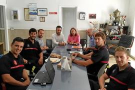 Los bomberos de Eivissa cifran en 90 los efectivos necesarios para cubrir la isla