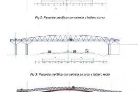 Proyectan una nueva pasarela que unirá s'Olivera y Vila por encima de la E-20