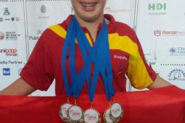 La española Sara Marín triunfa en los juegos olímpicos para personas con síndrome de Down