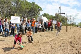 Red Eléctrica ya descartó la recomendación del Consell de soterrar la línea de es Fornàs