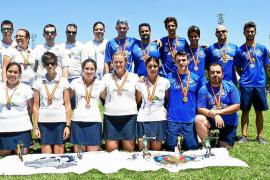 El Eivissa Patrimoni logra el título nacional en dos modalidades