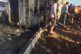 Mueren 5 policías en un atentado del PKK en el este de Turquía