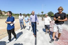 Los núcleos de Jesús y Puig d'en Valls estarán conectados por un paso subterráneo