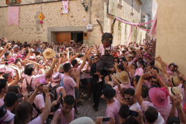 Imagen de archivo de la fiesta.