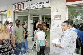 El paro cayó en julio en las Pitiüses en 909 personas y crecen un 7% las afiliaciones