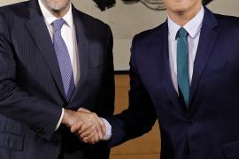 Rivera le dice a Rajoy que ve «con buenos ojos» un pacto por España