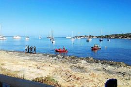 Localizan sin vida el cuerpo de un buceador francés en Formentera