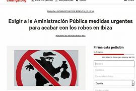 Víctimas de robos activan una campaña en 'Change.org' para exigir medidas urgentes