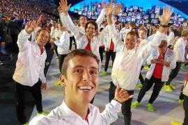 Mateo Sanz ya disfruta en Río
