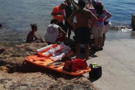 Fallece un turista en Caló des Moro