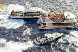 La Guardia Civil inspecciona 20 'party boats' en julio y agosto