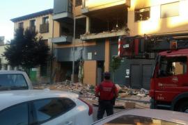 Tres personas desaparecidas en una explosión registrada en una vivienda de Tudela