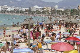 Récord de presión humana en Balears: 2 millones de personas el 10 de agosto