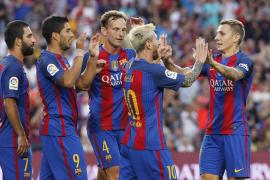 Leo Messi vuelve al Camp Nou a lo grande