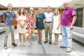 Los vecinos de es Fornàs calculan que soterrar la línea de alta tensión costaría 9 millones de euros