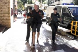 El juez deja en libertad al italiano que provocó el incendio en s'Espalmador