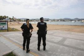 Detenido en Sant Antoni mientras vendía droga a turistas