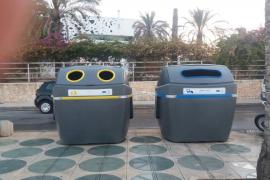 La concesionaria de la limpieza en Vila instala 14 nuevos contenedores en el paseo Joan Carles I