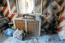 El mal estado de una instalación provoca una explosión de gas sin causar heridos