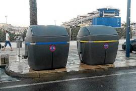 Valoriza instala 14 nuevos contenedores de rechazo, cartón y envases en el paseo Joan Carles I
