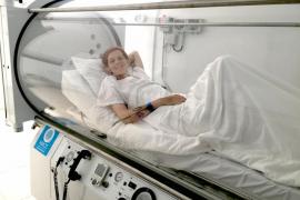 Bimba Bosé, en la cámara hiperbárica para luchar contra su cáncer
