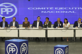 """""""Carta blanca"""" del PP a Rajoy para negociar con Ciudadanos"""