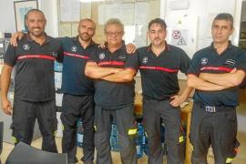 Los bomberos de Eivissa piden triplicar la plantilla para garantizar un buen servicio