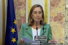 Ana Pastor convoca el pleno de investidura el 30 de agosto