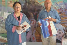 Orlando Herrera y Amanda Echeverría unen sus creaciones en Amsterdam