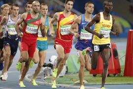 Semifinales de los 1500 metros. David Bustos. Río 2016