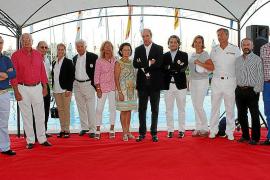 Entrega de trofeos de la regata de Classics