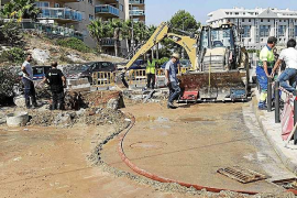 La tubería de la desaladora de Vila ya está arreglada y la instalación funciona con normalidad