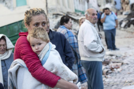 Muchos niños entre las víctimas del devastador terremoto de Italia