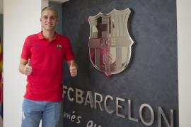 El meta holandés Jasper Cillessen, nuevo jugador del Barcelona