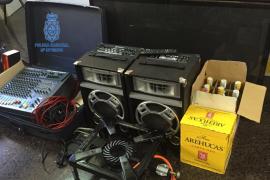 Detenido por okupar una casa, prender fuego un colchón y vender por Internet los electrodomésticos