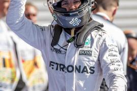 Rosberg logra en Bélgica su sexta 'pole' de la temporada