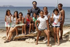 Despedida a los niños saharauis en las Pitiüses