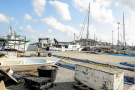 Las barcas de Formentera se trasladarán al actual muelle de pescadores del puerto de Vila