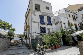 Vecinos de sa Carrossa denuncian el 'abandono' de un edificio en ruinas