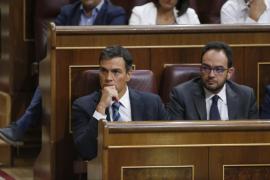 El debate de investidura se reanudará este miércoles con la intervención de Sánchez