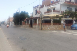 La Guardia Civil busca al autor del asalto a un taxista herido con un cuchillo