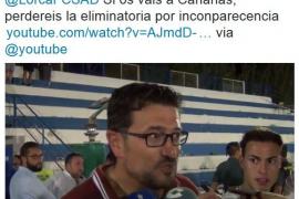 El entrenador del Lorca FC, rival del Formentera en Copa del Rey, confunde Formentera con Canarias