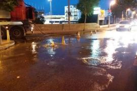 Vertido de aguas fecales en Sant Antoni