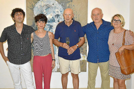 Luis Vidal presenta su obra en la Galería Dionis Bennàssar de Pollença