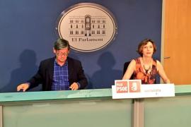 El PSIB reclama a Madrid 106 millones y el desbloqueo de los presupuestos de 2017