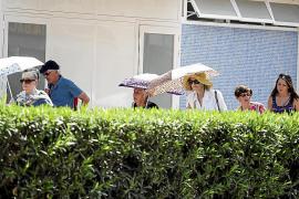 Las Pitiüses registran la temperatura más elevada del verano: 39 grados
