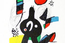 Picasso, Dalí, Miró y Tàpies despiden el verano en la Galería Marta Torres
