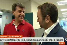 Cayetano Martínez de Irujo se estrena como tertuliano político