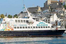 Baleària instala wifi en 3 barcos de la línea Eivissa - Formentera