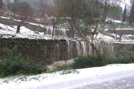 Frío y nieve en Mallorca